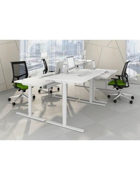 Bureaux assis/debout EASY réglables électriquement